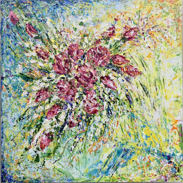 nola graham, Toss the Bouquet, 2020