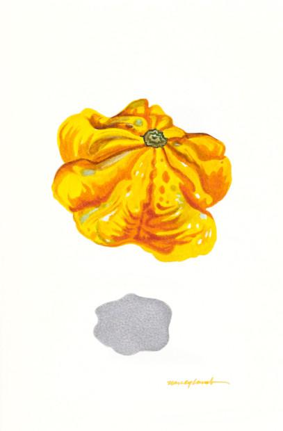 Nancy Lamb, Flower Pumpkin, 2020