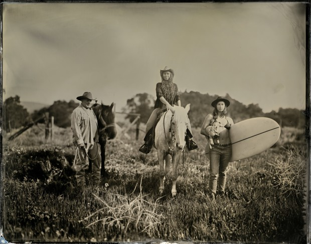 Joni Sternbach 15.02.18 #6 Afternoon at Orella Ranch, 2015 Tintype 27.9 x 35.6 cm 11 x 14 in