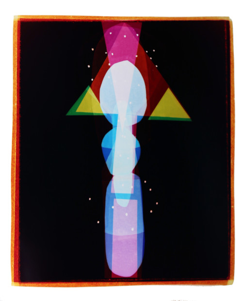 Liz Nielsen Tokyo Totem, 2015 Signed, titled and dated on artist's label Analogue Chromogenic Photogram on Fuji Lustre, Unique 127 x 101.6 cm 50 x 40 inches