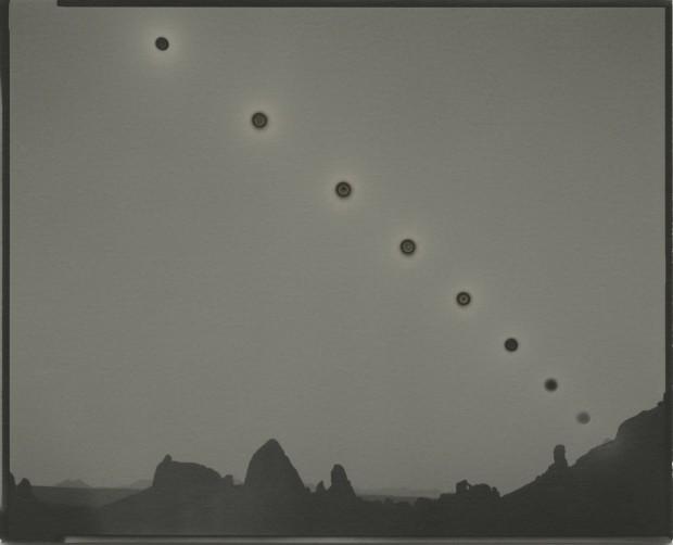 Chris McCaw - Sunburned GSP#1031 (Mojave/expanding), 2019