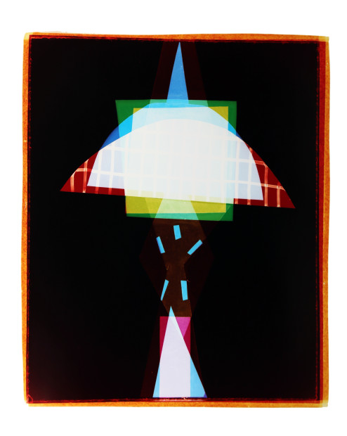 Liz Nielsen Space Needle Totem, 2015 Signed, titled and dated on artist's label Analogue Chromogenic Photogram on Fuji Lustre, Unique 127 x 101.6 cm 50 x 40 in