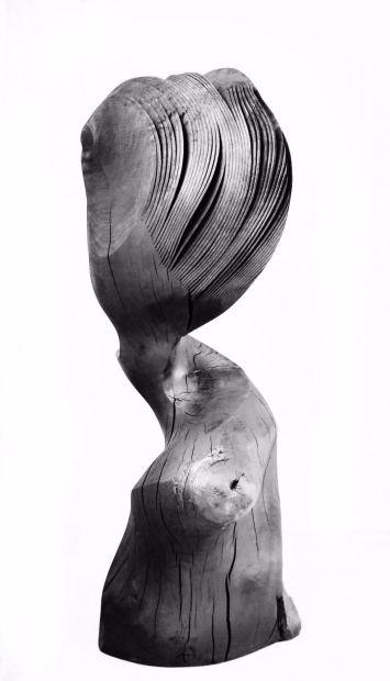 Moving Portrait, Beech-black, 2018