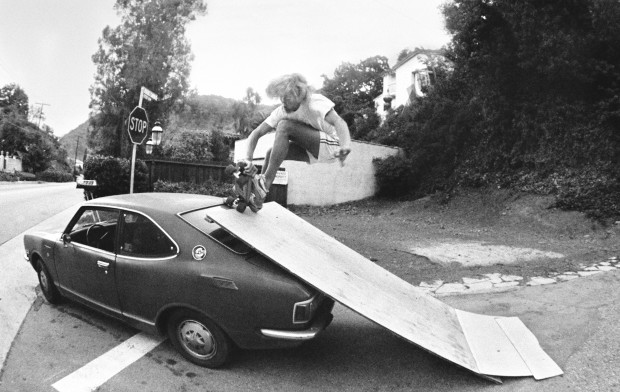 Hugh Holland, Auto-Ramp, Benedict Canyon, CA, 1976