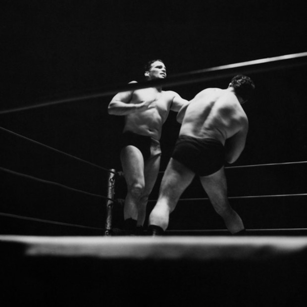 Hunter S. Thompson, Wrestling Match, Louisville, Kentucky, c. 1950s