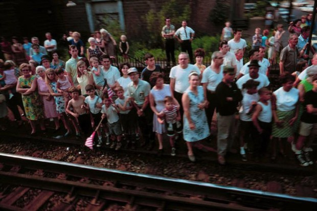 Paul Fusco, RFK Funeral Train #2459, 1968