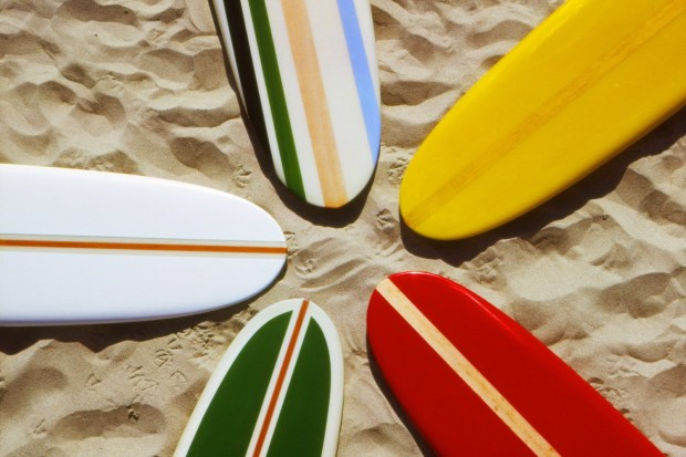 LeRoy Grannis, Jacobs Surfboards, Hermosa Beach (No. 79), 1963