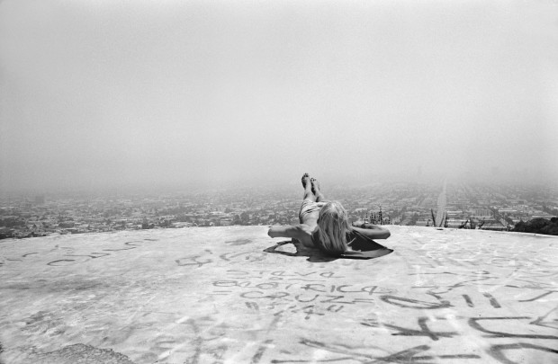 Hugh Holland, Laid Back on Mount Olympus, Hollywood Hills, CA, 1975