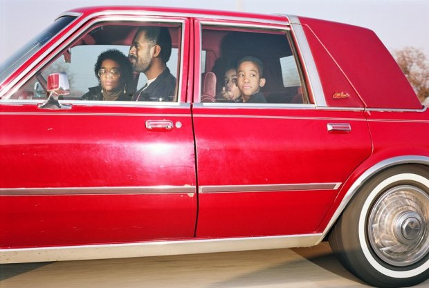 Andrew Bush, Family traveling northwest at 63 mph on Interstate 244 near Yale Avenue in Tulsa, Oklahoma at approximately 4:15 p.m. on the last day of 1991