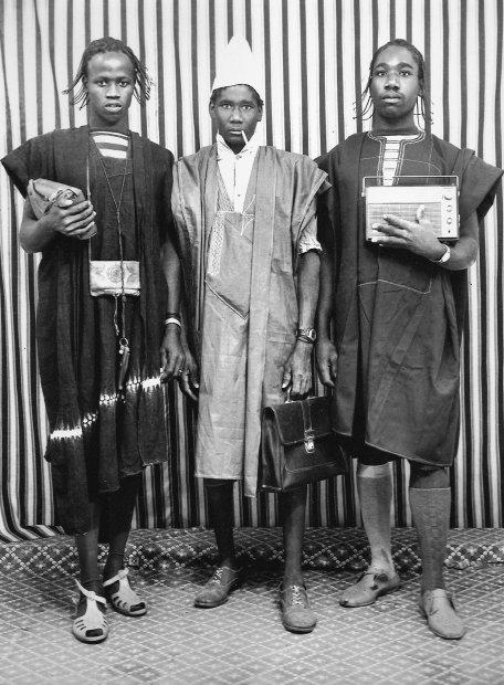 Malick Sidibé, Les Trois Peuls, 1976 / 2010