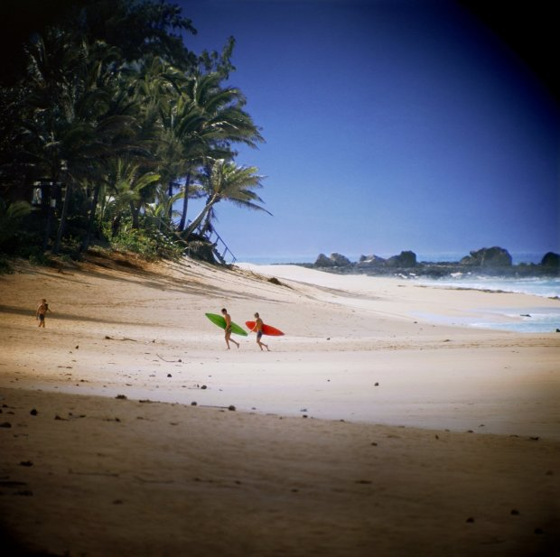 LeRoy Grannis, Shark's Cove, North Shore (No. 102), 1974