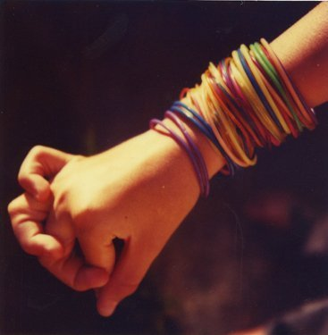 Mike Brodie, Amanda's Bracelets // Conroe, Texas, 2005