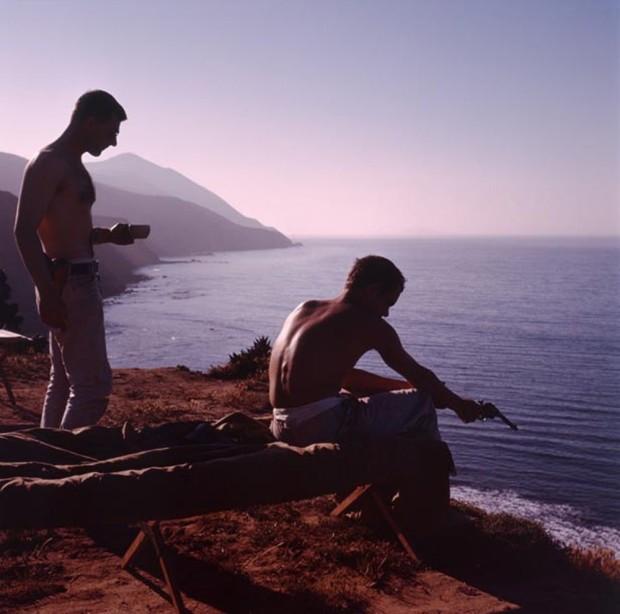Hunter S. Thompson, Fishing with Guns, c. 1960s