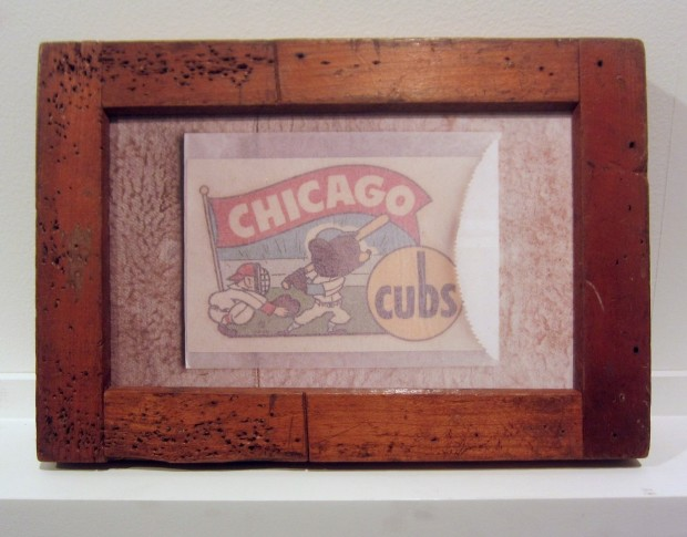 Andrew Bush, Chicago Cubs Decal, 2011