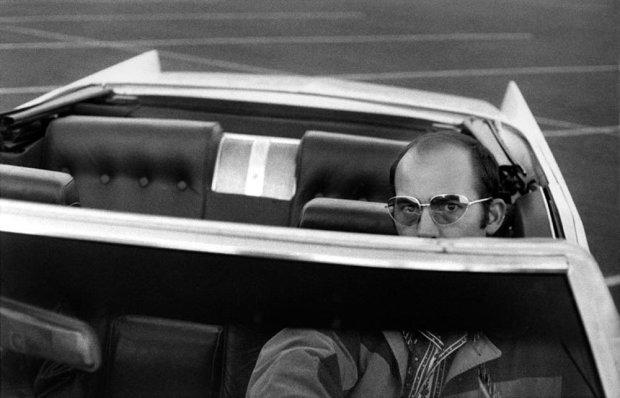 Hunter S. Thompson, Self Portrait, In White Whale, Las Vegas, c. 1970s