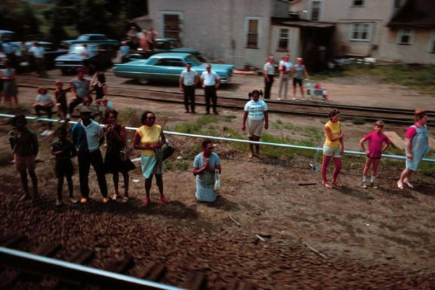 Paul Fusco, RFK Funeral Train #2464, 1968