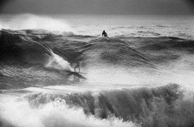 LeRoy Grannis, Jim Fox, Redondo Breakwater, 1963