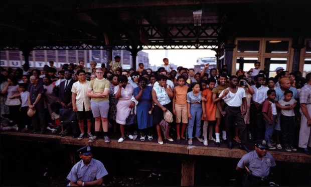 Paul Fusco, RFK Funeral Train #2435, 1968