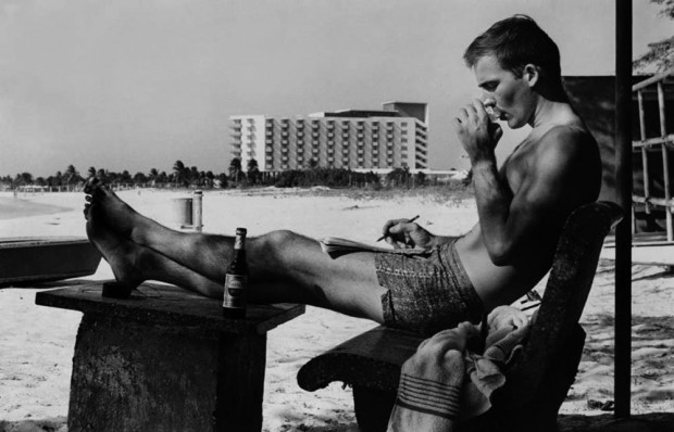 Hunter S. Thompson, Self Portrait, Puerto Rico, c. 1960s