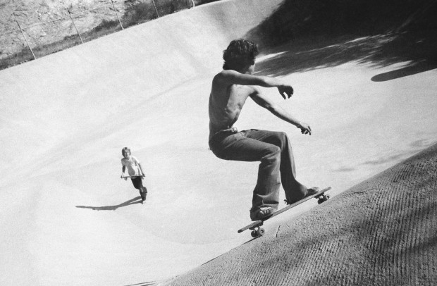 Hugh Holland, Craw Bowl, Viper Bowl, Hollywood, CA, 1976