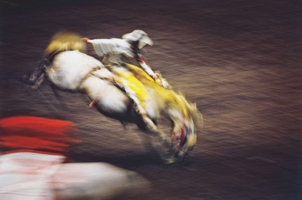 Ernst Haas, Rodeo, Madison Square Garden, NYC, 1957