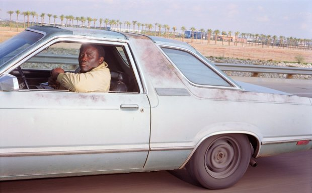 Andrew Bush, Man going northeast at 71 mph on Interstate 40 outside of Phoenix on a Monday morning in January 1991, 1991
