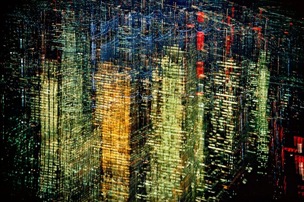 Ernst Haas, Lights of New York, 1970