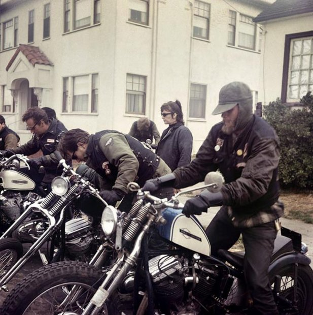 Hunter S. Thompson, Hell's Angels, Start Up, California, c. 1960s