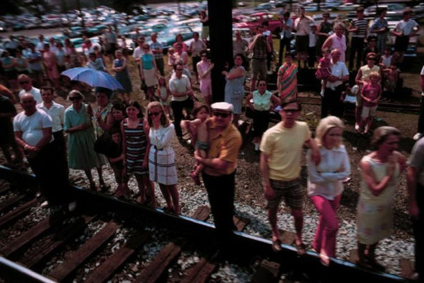 Paul Fusco, RFK Funeral Train #2460, 1968