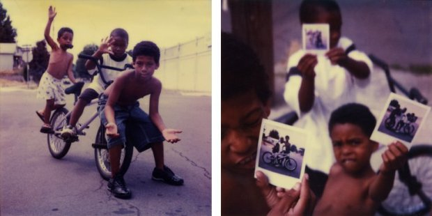 Mike Brodie, The Polaroid Kids // Portland, Oregon (diptych), 2005