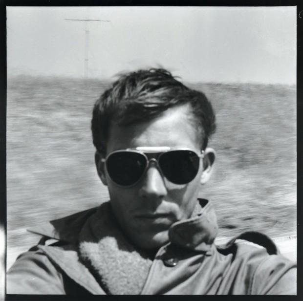 Hunter S. Thompson, Self Portrait, On the Road to Tijuana, circa 1960s