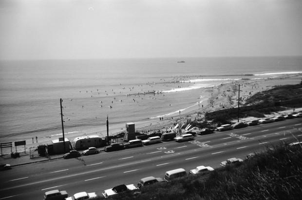 LeRoy Grannis, Uncrowded Day, Malibu, 1965