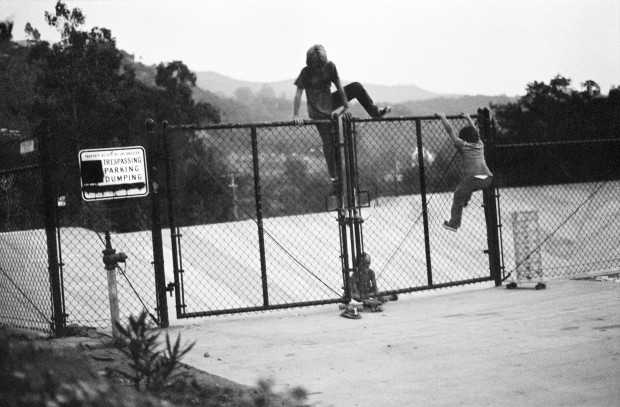 Hugh Holland, Trespassing, Parking, and Dumping, Hollywood Hills, CA, 1975