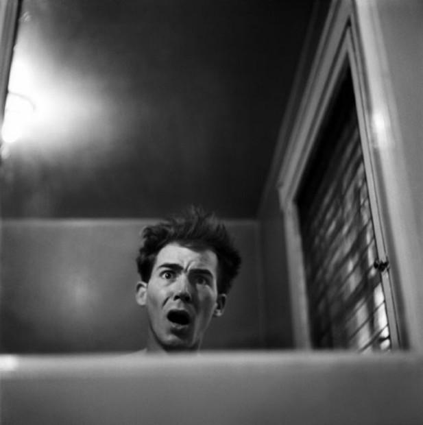 Hunter S. Thompson, Self Portrait, Louisville, c. 1950s