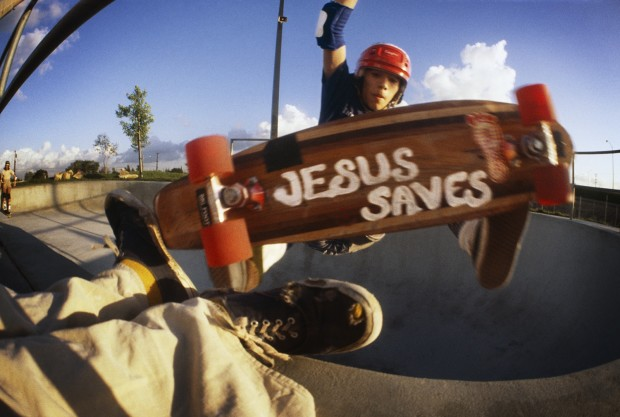 Hugh Holland, Jesus Saves, Marina Del Rey, 1977