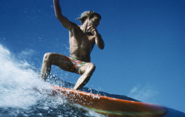 LeRoy Grannis, Midget Farrelly, Pupukea, North Shore of Oahu, 1970