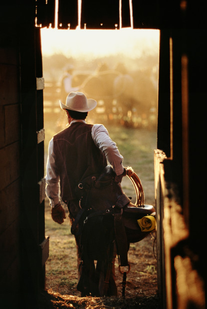 Norm Clasen, Day Break, Seymour, TX, 1987