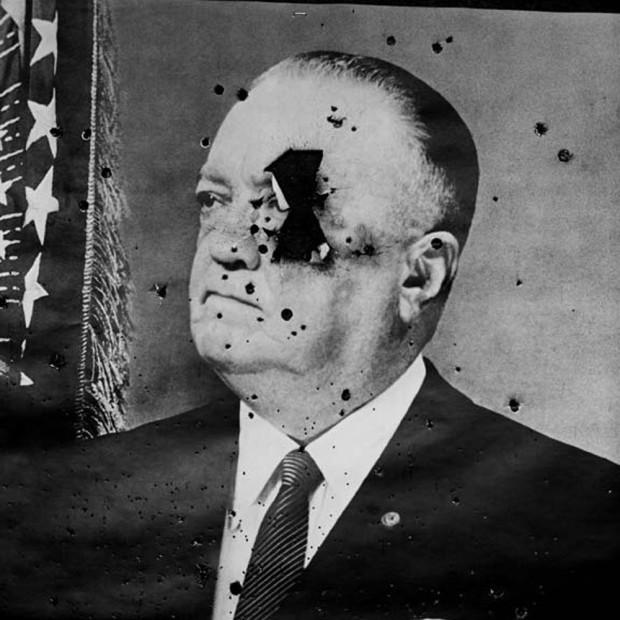 Hunter S. Thompson, J. Edgar Hoover Shotgun, c. 1960s