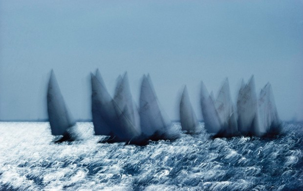 Ernst Haas, Regatta, California, 1957