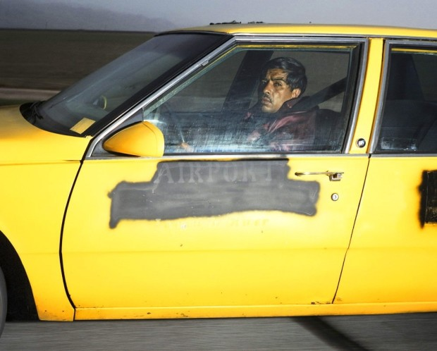 Andrew Bush, Man heading south at 73 mph on Interstate 5 near Buttonwillow Drive outside of Bakersfield, California, at 5:36 p.m. on a Tuesday in March 1992
