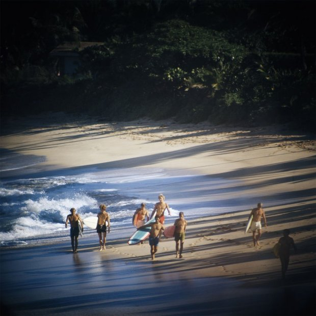 LeRoy Grannis, Duke Contest Finalists, Sunset Beach, 1967