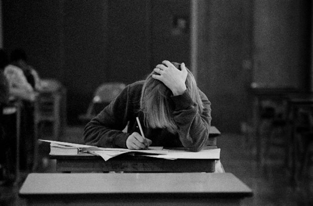 Joseph Szabo, Carola in Exams, 1983