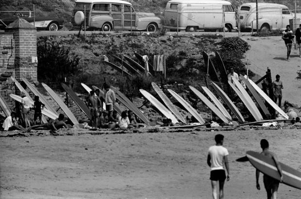 LeRoy Grannis, The Malibu Pit, 1961
