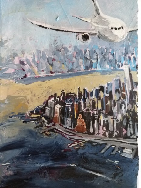 E. Tilly Strauss, Over Manhatten, 2018