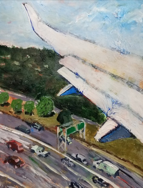 E. Tilly Strauss, Wing and Highway, 2018