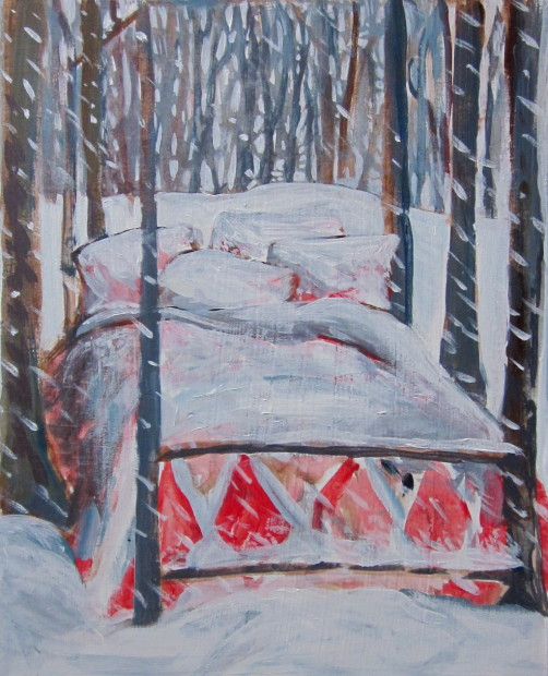 E. Tilly Strauss, Blanket of Snow, 2011