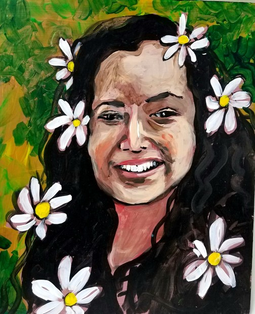 E. Tilly Strauss, Flower Child, 2016