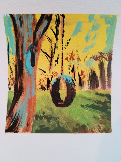 E. Tilly Strauss, Tire Swing, 2019