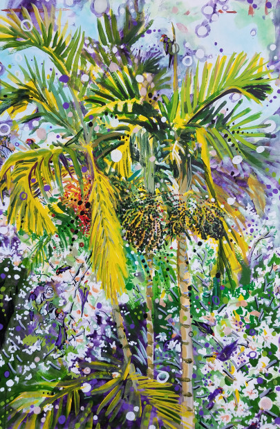 E. Tilly Strauss, Parrot Trees, 2019