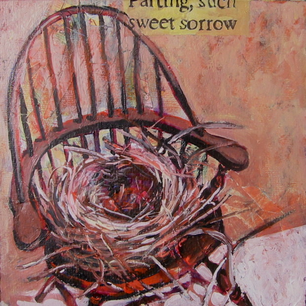 E. Tilly Strauss, Chair and Nest of Sorrow, 2010